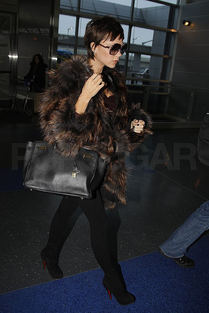 Victoria Beckham at JFK