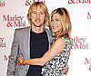 Photo of Jennifer Aniston and Owen Wilson at the Paris Photo call for Marley & Me