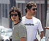 Photo of Orlando Bloom and Eric Bana Out in Sydney at the Deus Ex Machina Motorcycles Shop