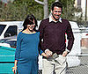 Photo of Pregnant Alyson Hannigan and Alex Denisof Out in LA