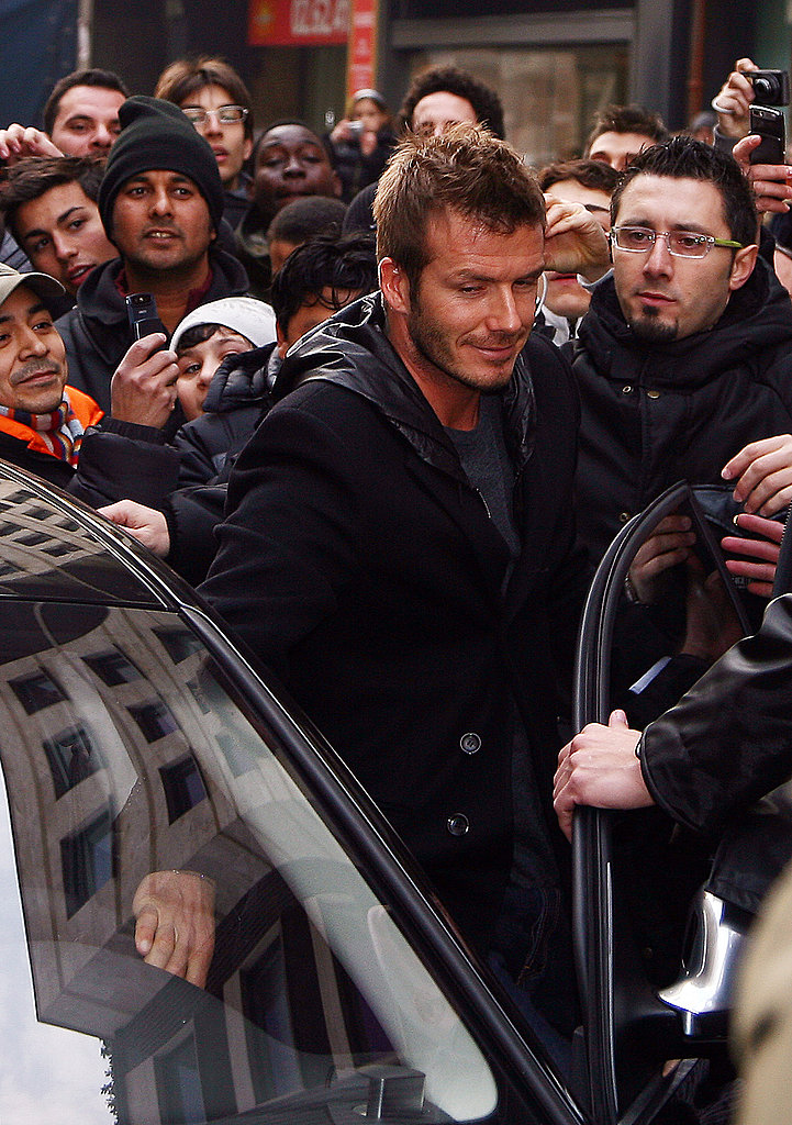 David Beckham in Milan