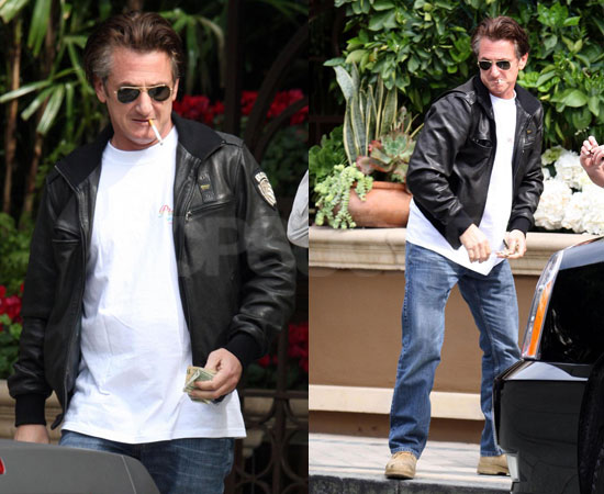 Sean Penn Hugs it Out