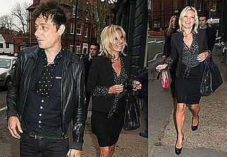 Photo of Kate Moss and Jamie Hince Out in London With Sadie Frost and Katy Brand
