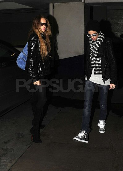 Lindsay and Sam in London