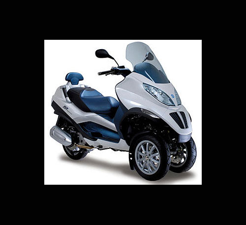 Paggio MP3 Hybrid Scooter
