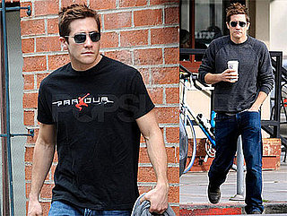 Photos of Jake Gyllenhaal in Los Angeles, Starring in Damn Yankees with Jim Carrey