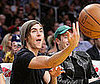 Photo of Zac Efron at Lakers vs. Memphis Game in LA