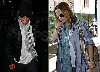 Photos of Reunited Lovers Kate Hudson and Owen Wilson Arriving at LAX from Europe