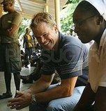 Matt Damon in South Africa