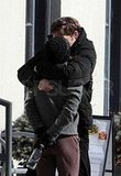 Rachel McAdams and Josh Lucas Kissing in Canada