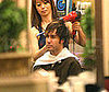 Photo of Pete Wentz Getting His Hair Done in LA