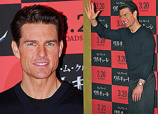 Photos of Tom Cruise Promoting Valkyrie in Tokyo