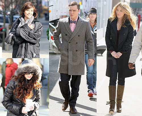 Photos of Gossip Girl Cast Filming in New York City