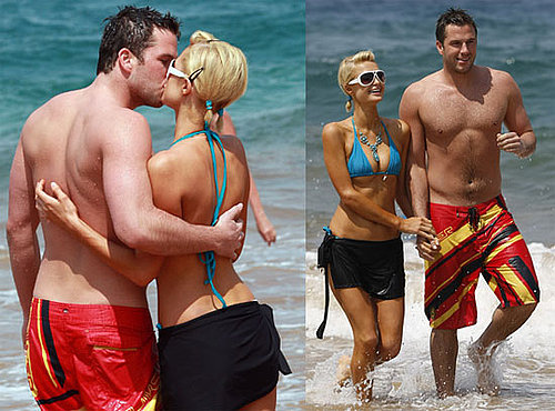 Bikini Photos of Paris Hilton in Maui With Doug Reinhardt