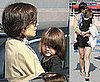 Photos of Katie Holmes With Short Hair After Having Longer Hair in Japan
