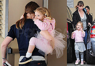 Photos of Jennifer Garner, Ben Affleck, Seraphina, Violet Affleck in Tutu LA