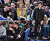 Photos of Gossip Girl's Chace Crawford, Leighton Meester, Ed Westwick, Sebastian Stan at the Knicks Game in NYC
