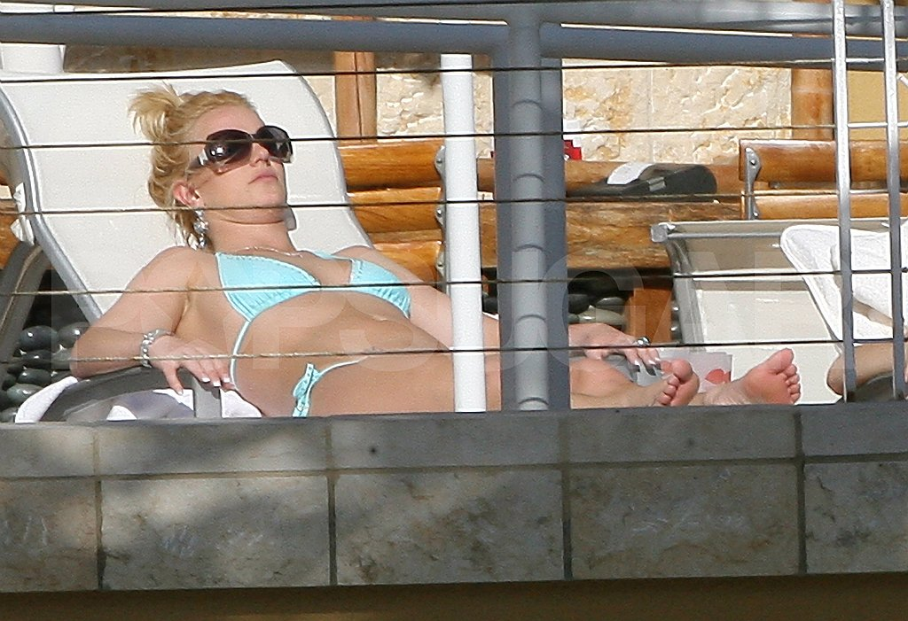 Britney in a Bikini in Miami