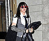 Photo of Madonna Dressed Like a Schoolgirl For Purim in NYC