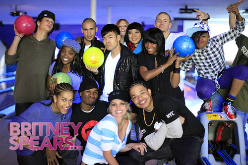 Britney Bowling and Performing