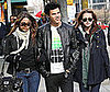 Photo of New Moon's Taylor Lautner, Kristen Stewart and Nikki Reed Out in Vancouver