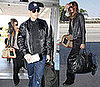 Photos of Tom Brady and Gisele Bundchen Arriving at LAX