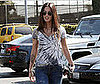 Photo of Megan Fox Heading into an LA Salon