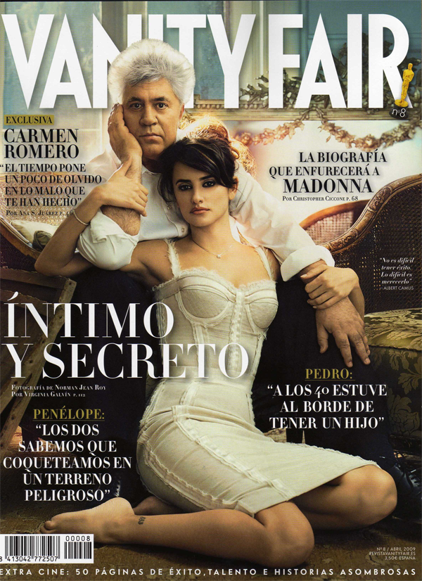 Penelope in Spanish Vanity Fair