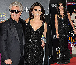 Photos of Penelope Cruz and Pedro Almodovar at Madrid Premiere of Broken Embraces