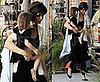 Photos of Katie Holmes and Suri Cruise at a Dance Studio in LA