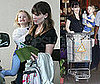 Photo of Jennifer Garner and Violet Affleck Shopping and Leaving School in LA