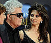 Photo of Penelope Cruz and Pedro Almodovar at the Madrid Premiere of Broken Embraces