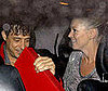 Photo of Kate Moss and Jamie Hince Heading Home From London's Volstead Club