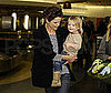 Photo of Keri Russell and Her Son River Deary at LAX