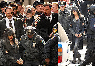Photos of Angelina Jolie Getting Arrested and Liev Schreiber Filming Salt in NYC