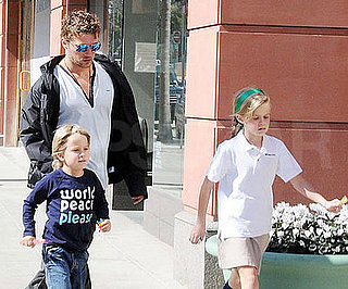 Photo of Ryan Phillippe Out in LA With His Kids Ava and Deacon