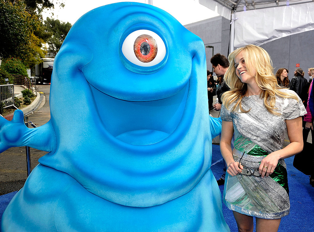 Reese Witherspoon at LA Monsters vs Aliens Premiere