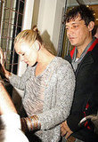 Kate Moss Leaving a Nightclub