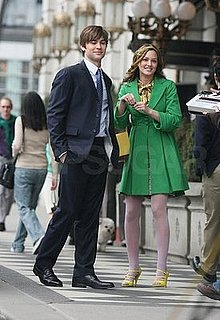 Photos of Blake Lively, Leighton Meester, Ed Westwick, Chace Crawford on the Set of Gossip Girl in NYC
