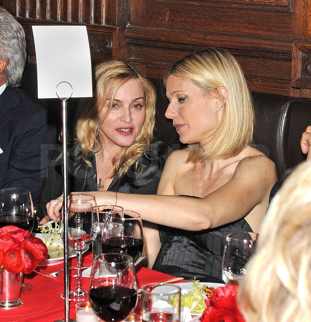 Madonna and Gwyneth Celebrate
