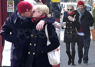 Photos of Michelle Williams and Spike Jonze Kissing in NYC