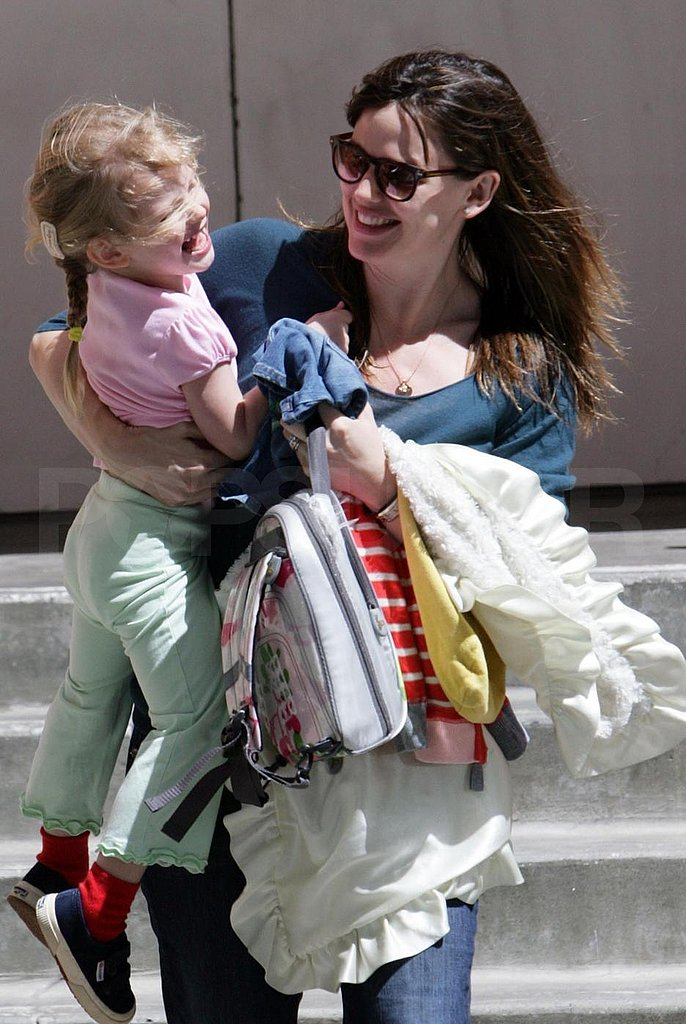 Jen and Violet Cuteness