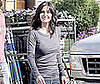 Photo of Courtney Cox Filming Cougar Town