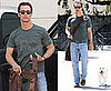 Photos of Matthew McConaughey and His Dog BJ in LA