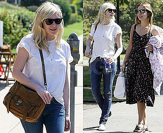 Photos of Kirsten Dunst at LA Park
