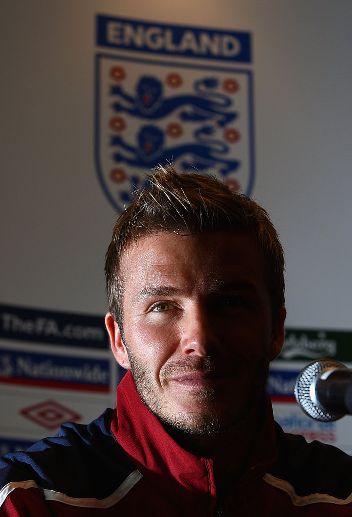 Beckham Close Up