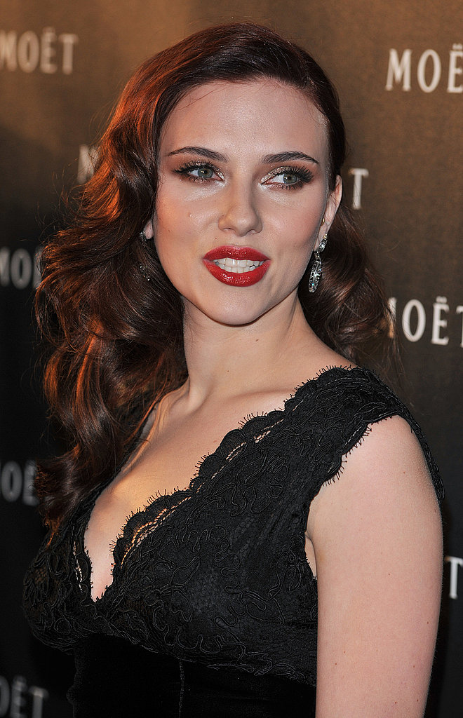 Scarlett Johansson at Moet Event in London