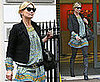 Photos of Kate Moss, Who&#039;s Set to Sing on An Album, Out in London