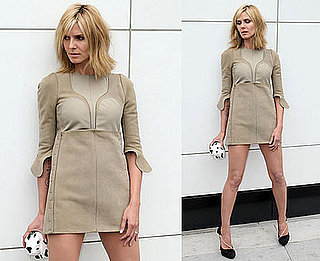 Photos of Heidi Klum at a Photo Shoot in LA