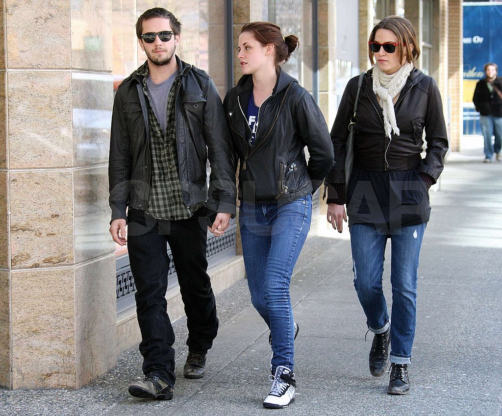 Kristen Out and About in Canada